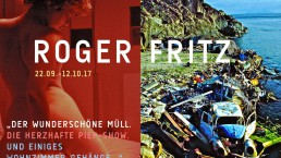 Einladung zur Vernissage von Roger Fritz am 22.09.2017 um 18 Uhr