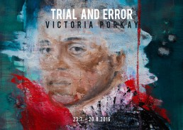 Solo Exhibition Victoria Porkay München Galerie flash
