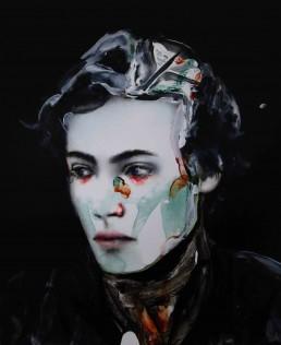 BUT BEAUTIFULLY WEIRD   Oil and acrylic on canvas   46x38cm 2020